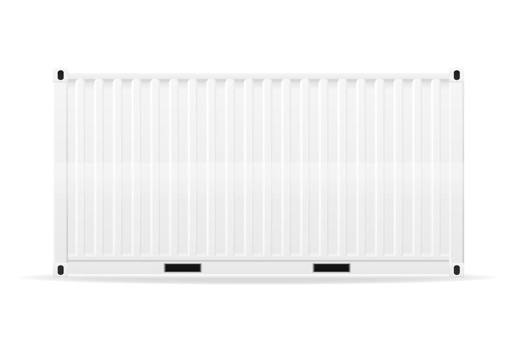 Ilustración de vector de contenedor de carga