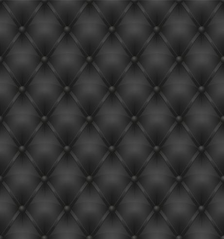 sfondo senza giunte di tappezzeria in pelle nera