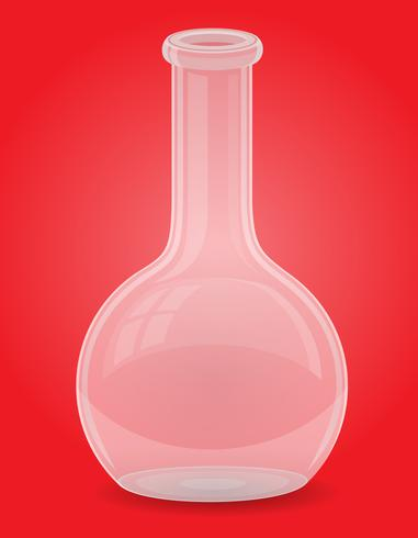 glas provrör vektor illustration