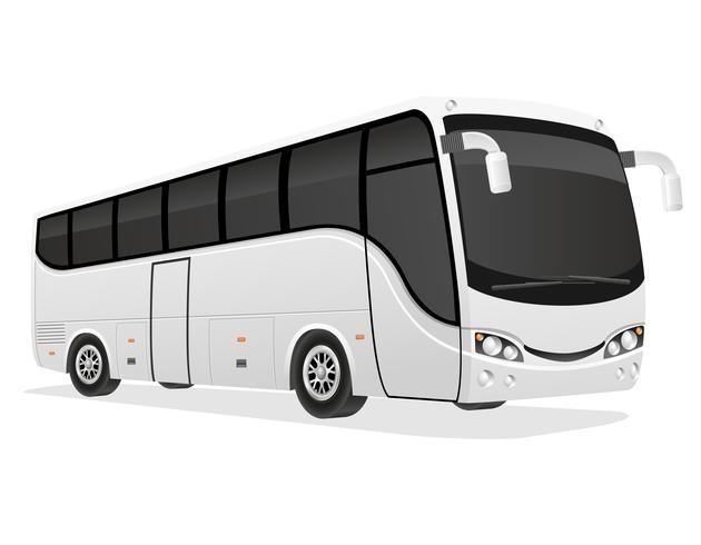 grote tourbus vectorillustratie