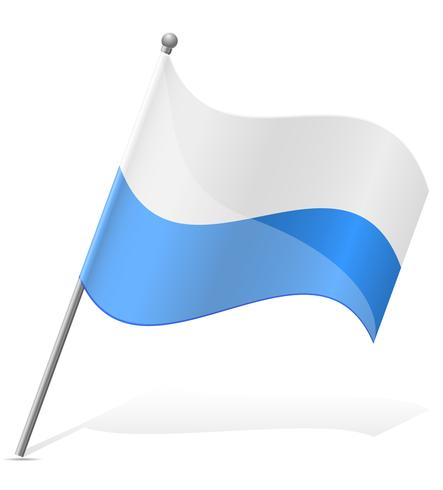 Flagge der San Marino-Vektorillustration