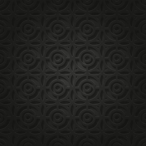 Fondo Steam Punk Pattern Negro