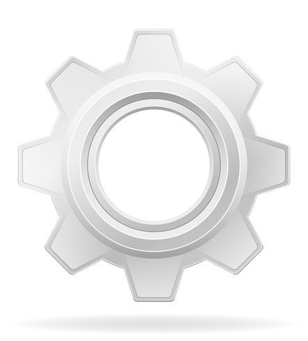 icon gear vector illustration