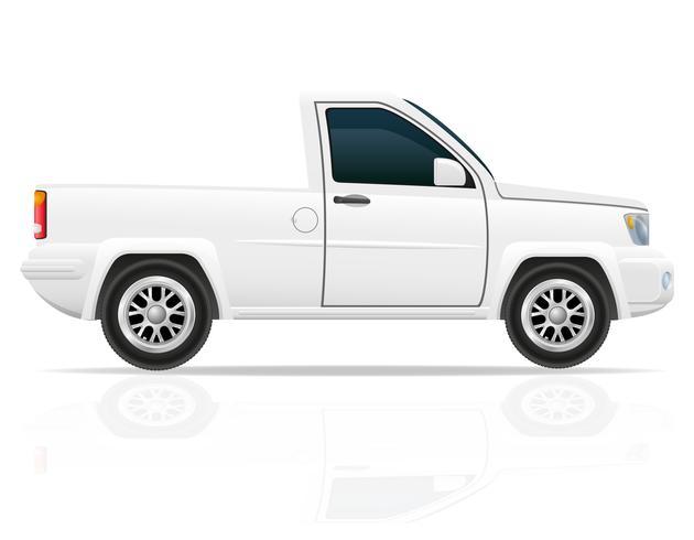 illustration vectorielle de voiture pick-up