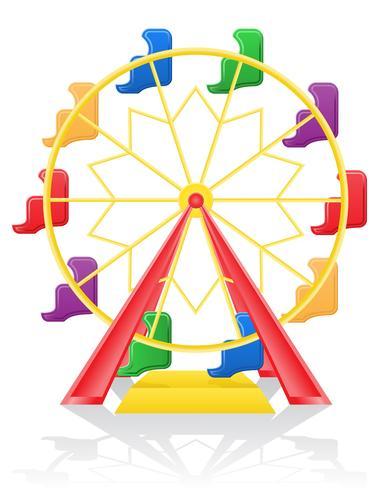 pariserhjul vektor illustration