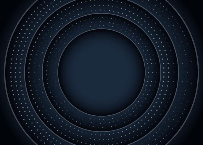 Fondo del círculo negro