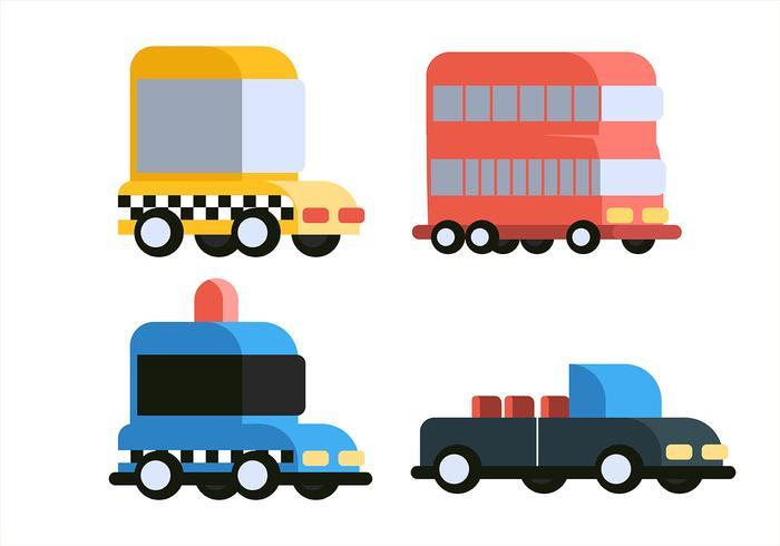 Transportation Clipart Set