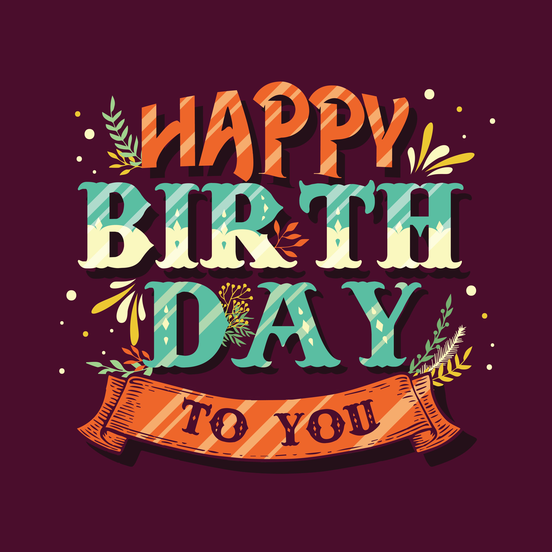 happy birthday vector design 517146  download free