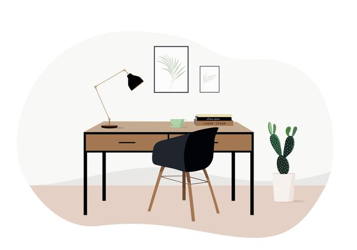 Vector Livingroom Illustration