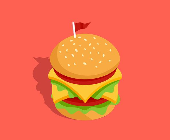 Ilustração de alimentos de verão