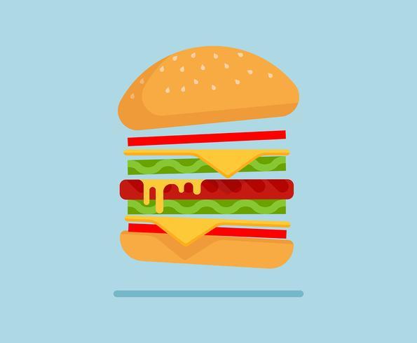 Sommer-Lebensmittel-Illustration