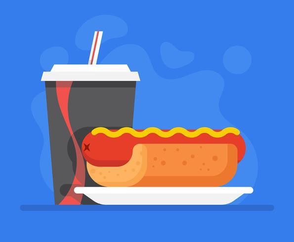 Summer Foods Illustration