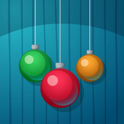 Bola de ano novo. Feliz Natal.