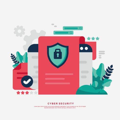 Cyber beveiligingsvector
