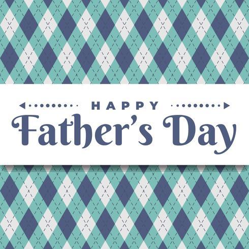 Plantilla feliz de la tarjeta de felicitación del día de padre