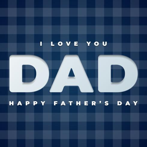 Happy Father`s Day Gift Card Template