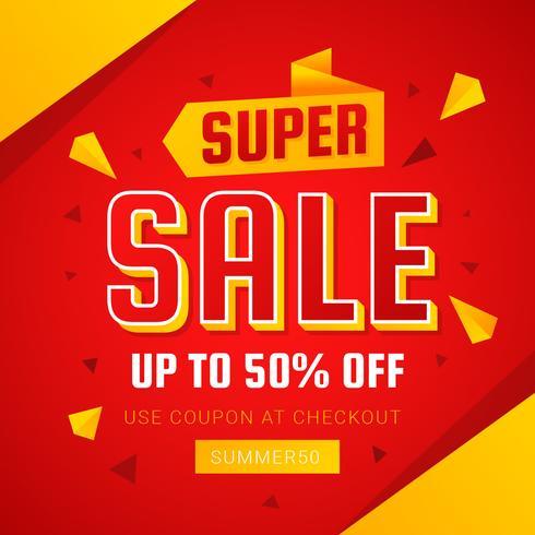 Super Sale Vector