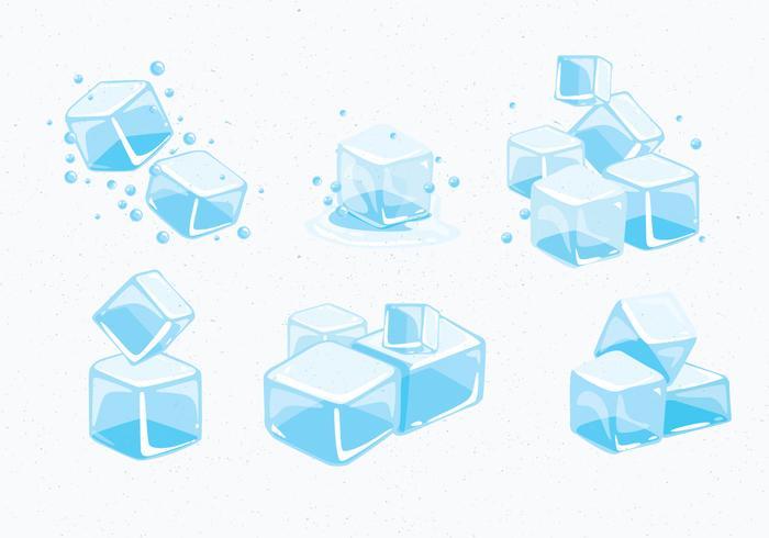 Ice Cube Clipart Vector