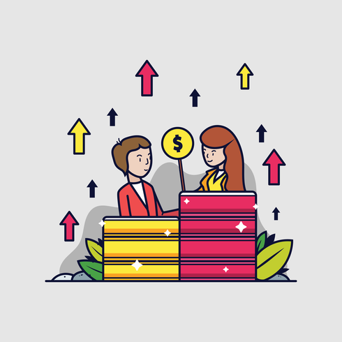 Samarbeta målvektor