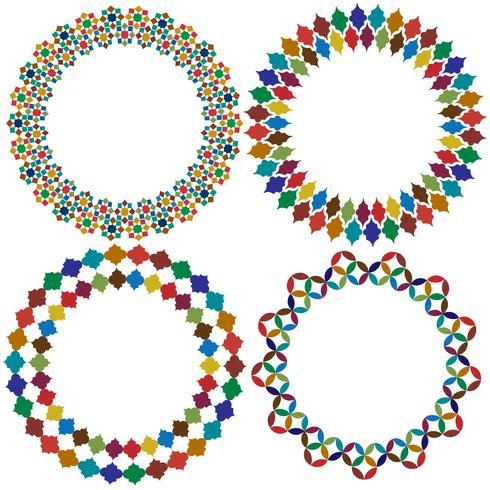 Cornici di piastrelle marocchine