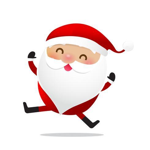 Glad jul karaktär Santa claus tecknad film 027