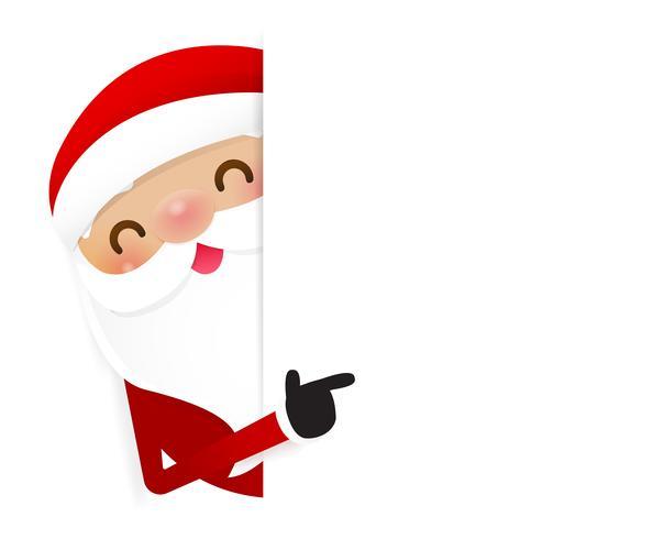 Weihnachtsweihnachtsmann-Karikaturlächeln 003