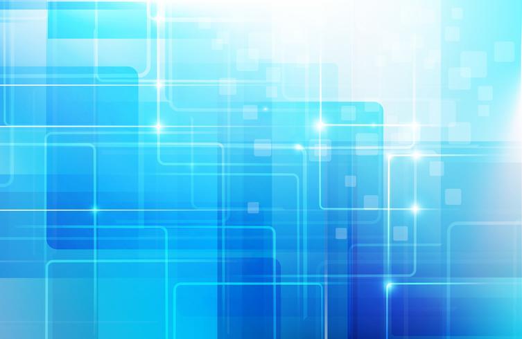 Il fondo blu astratto con forma di geometria di base poli stile basso ed effetto di ligting vector l'ENV 10 004