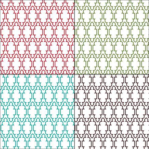 modelli di piastrelle marocchine ornate