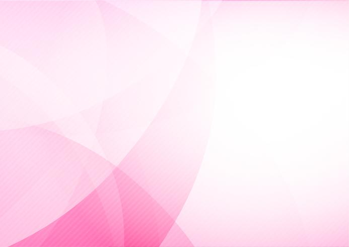 Curve and blend light pink abstract background 013