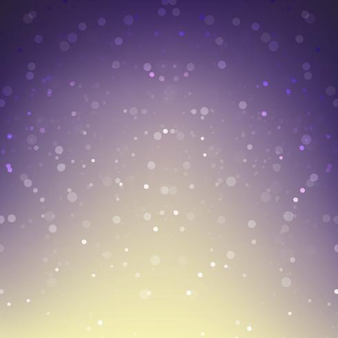 Astratto sfondo neve che cade contro viola 001 vettore