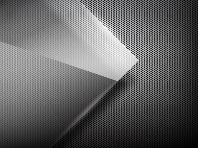 Abstract background hold polished metal 002 vector
