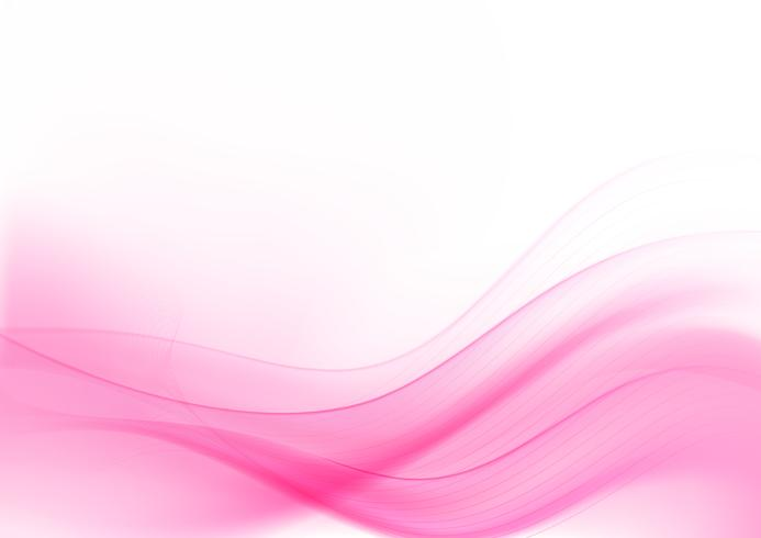 Curve and blend light pink abstract background 008