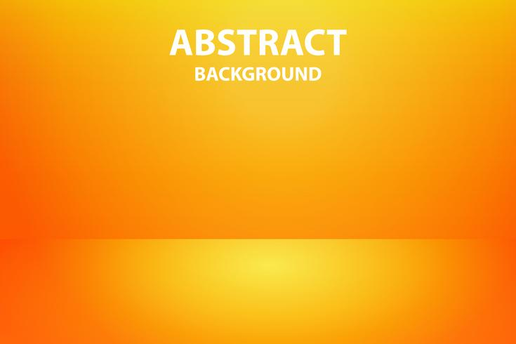 Soft And Dark Orange With Yellow Abstract Background Vector