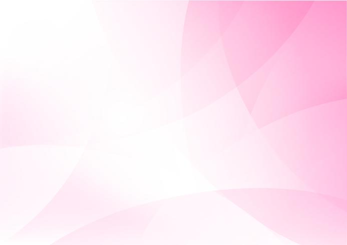 Curva y mezcla rosa claro fondo abstracto 011 vector
