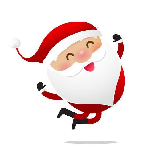 Happy Christmas-karakter Santa claus cartoon 016