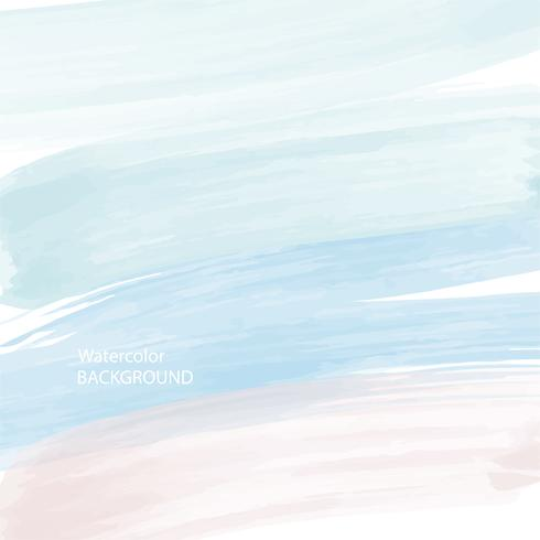 soft blue watercolor abstract texture background, vector and illustration