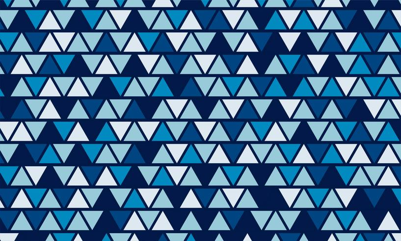 Polígono bajo azul y fondo geométrico en estilo vintage y retro