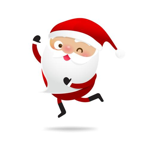 Joyeux Noël personnage Santa Claus cartoon 007