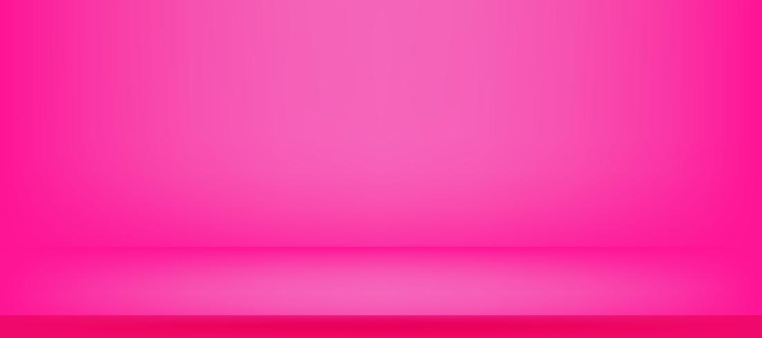 färgstarkt rosa studio rum och vägg bakgrund för att presentera produkt