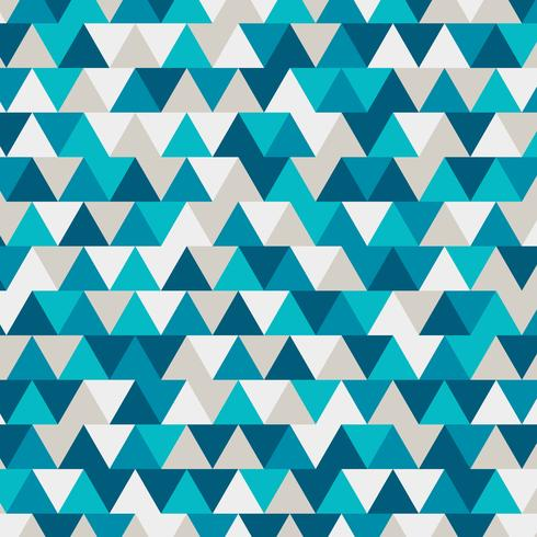 blue low polygon and geometric background in vintage and retro style vector