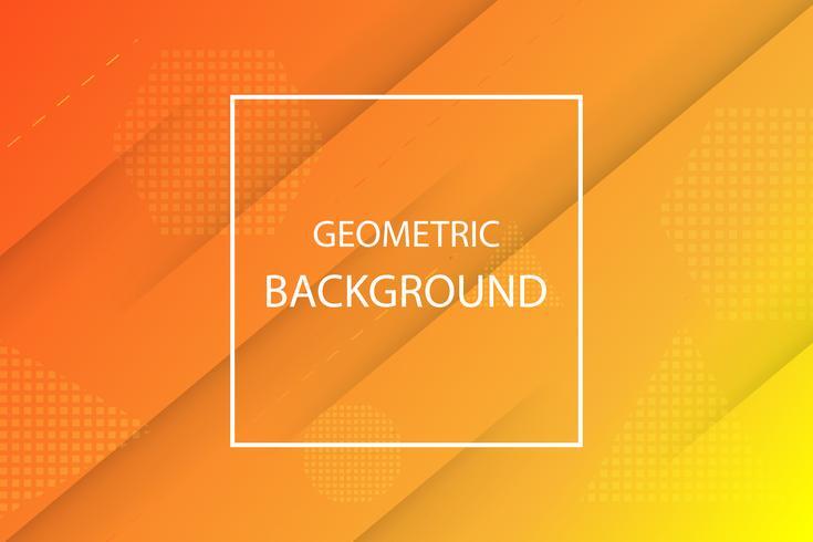 orange and yellow geometric background