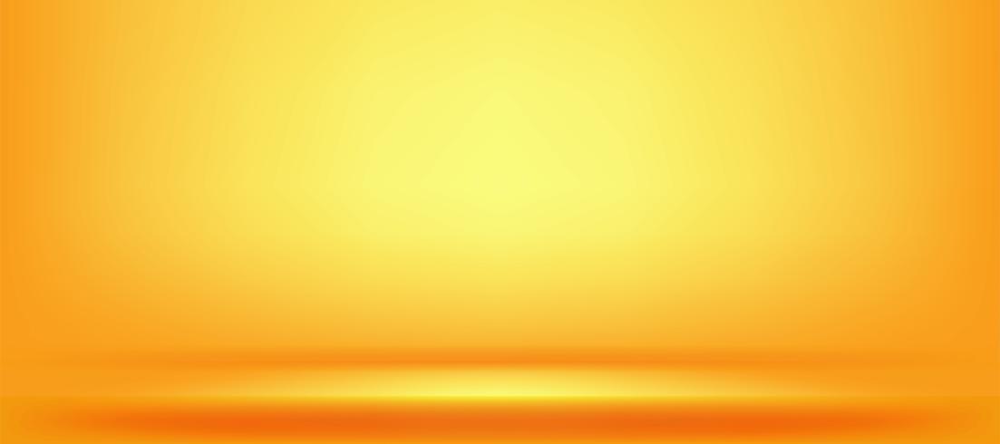 yellow and orange studio background vector