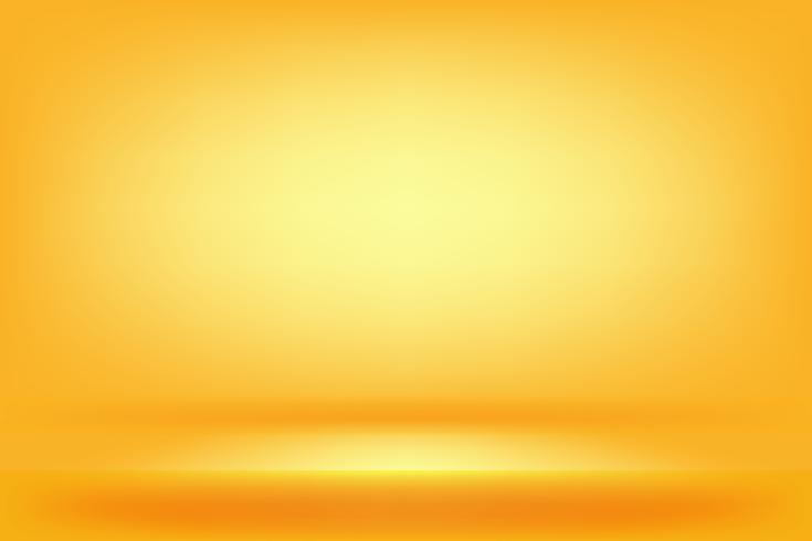 Fondo de estudio amarillo y naranja vector
