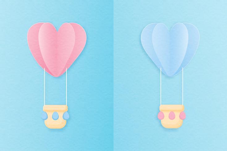 Criativo amor convite cartão dia dos namorados conceito.