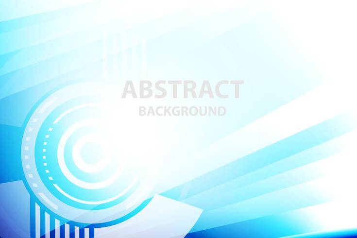 blue geometric abstract and technology background