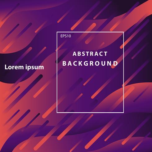 abstracte geometrische violette kleurenachtergrond, kleurrijk licht van meteoor