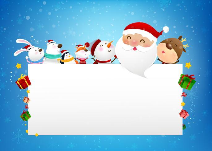 Imagenes De Papa Noel Animado.Navidad Muneco De Nieve Papa Noel Y Dibujos Animados De