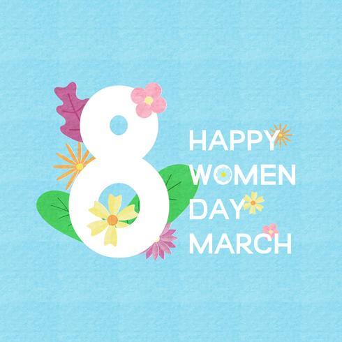 Cartolina d'auguri di giorno delle donne creative, banner, poster.
