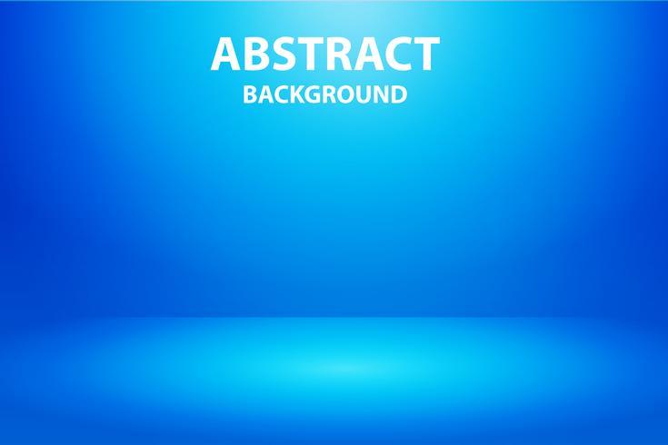 blauer horizontaler Studio-Steigungswandraum, moderner Innenhintergrund