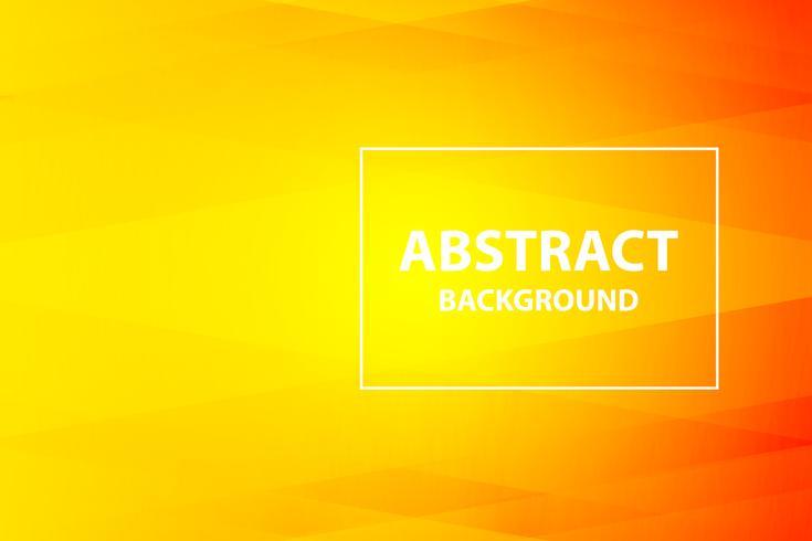 orange doux et foncé avec fond abstrait jaune, vector
